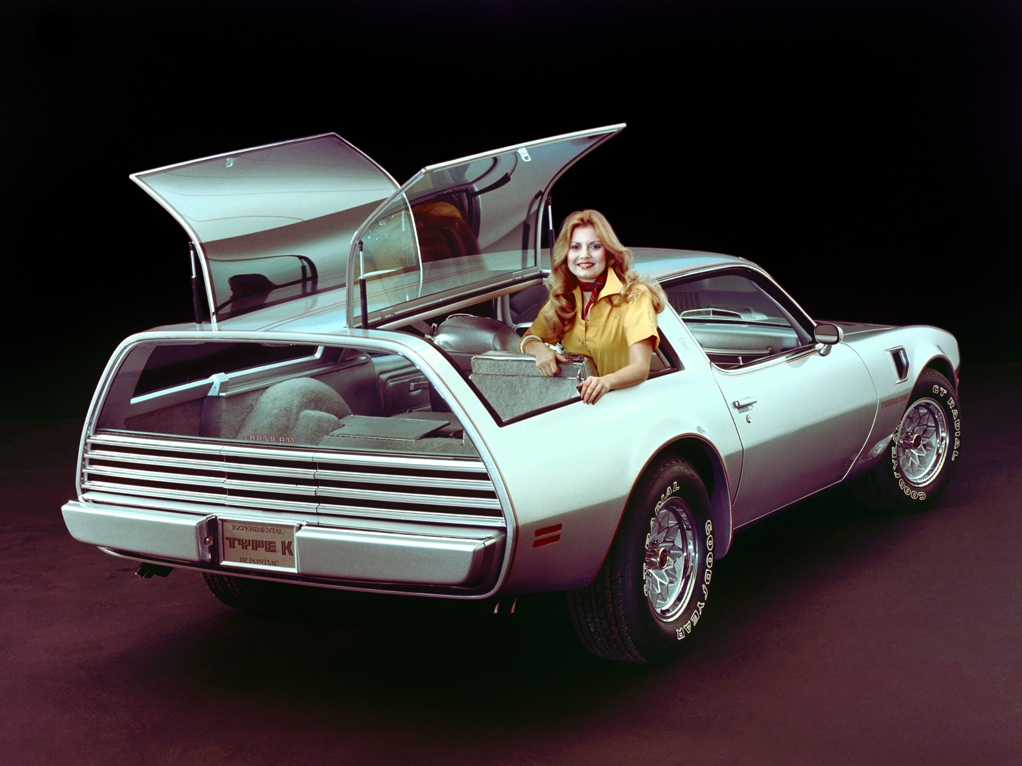 Pontiac Firebird Trans Am Type K Concept 1977 Old