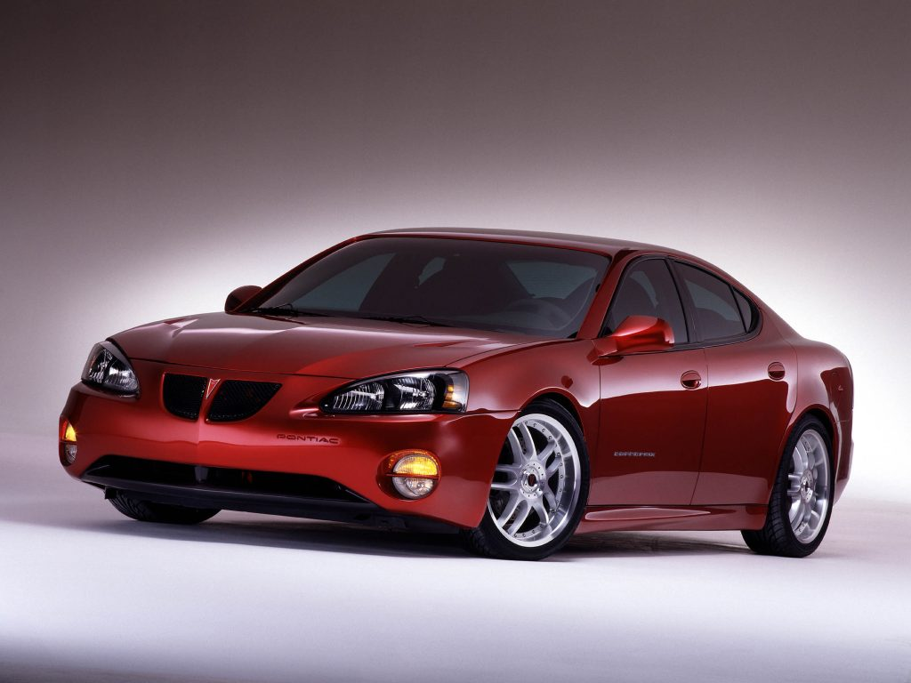Pontiac Grand Prix G-Force Concept (2002)