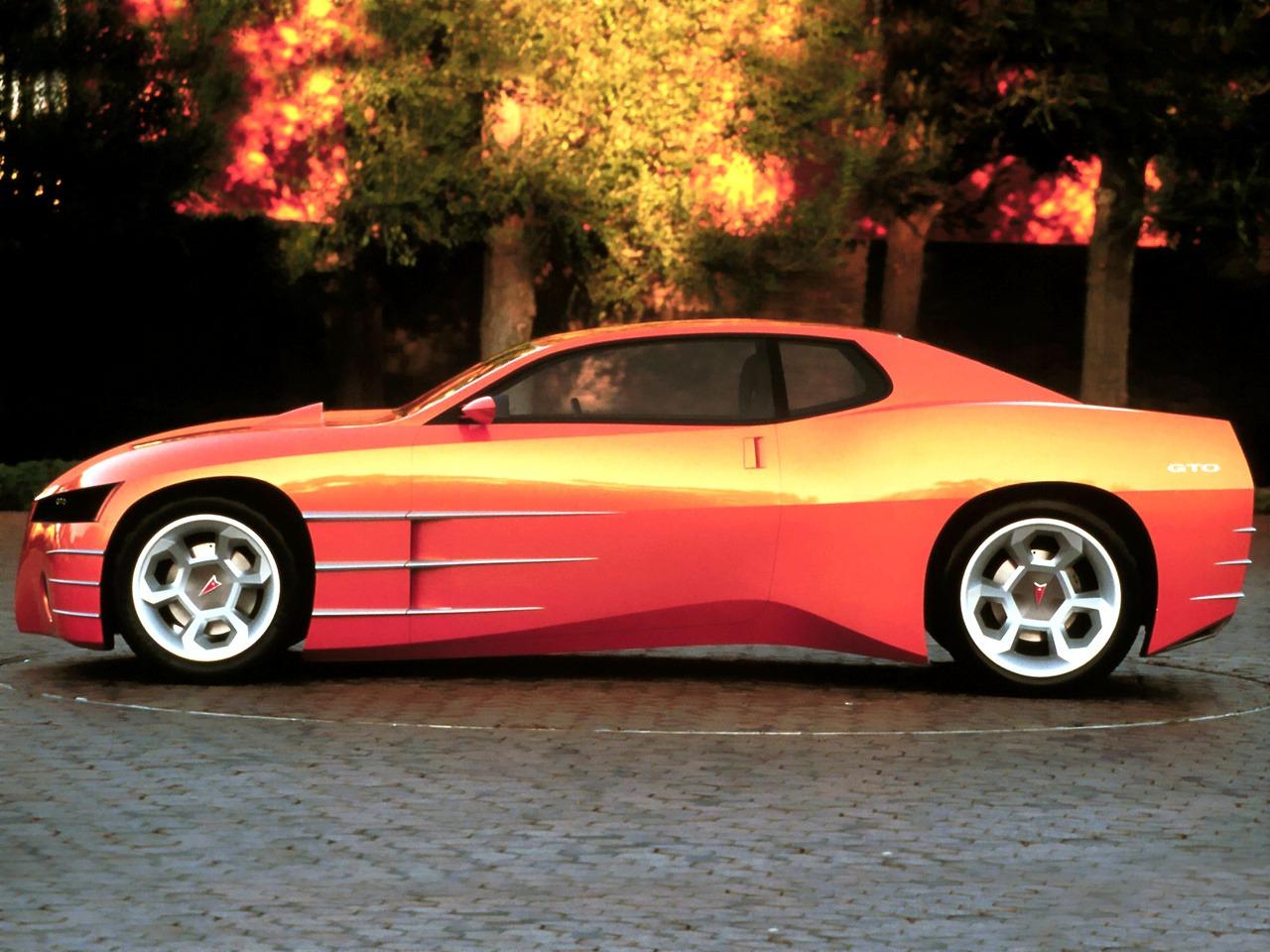 Pontiac Gto Concept 1999 Old Concept Cars