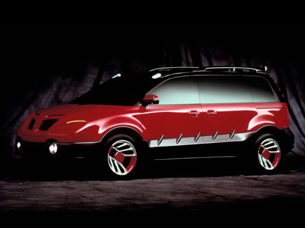Pontiac Montana Thunder Concept (1998)