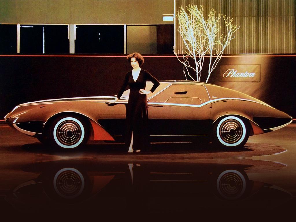 Pontiac Phantom Concept (1977) – Old Concept Cars