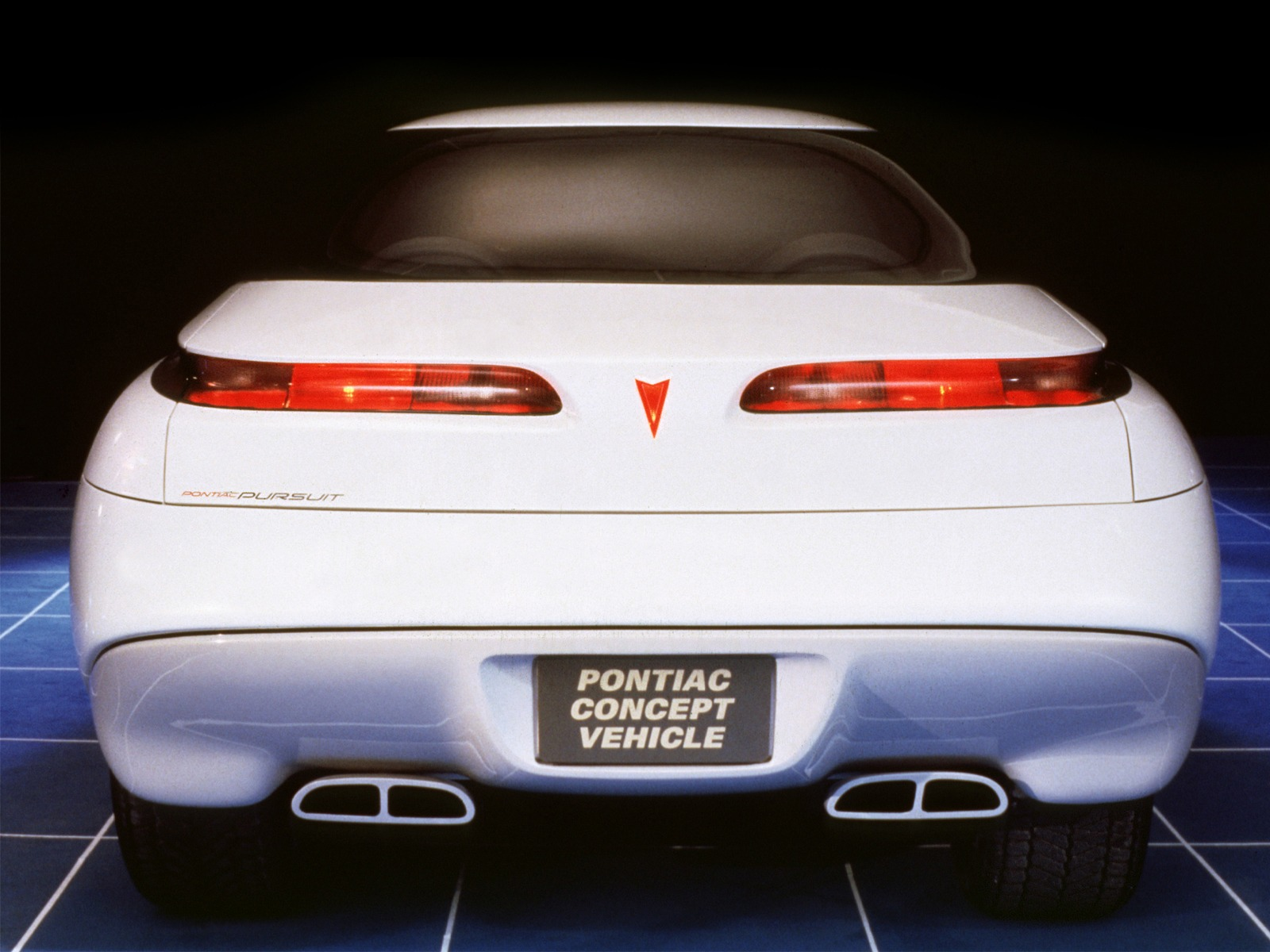 Pontiac Pursuit Concept 1987 Old Concept Cars