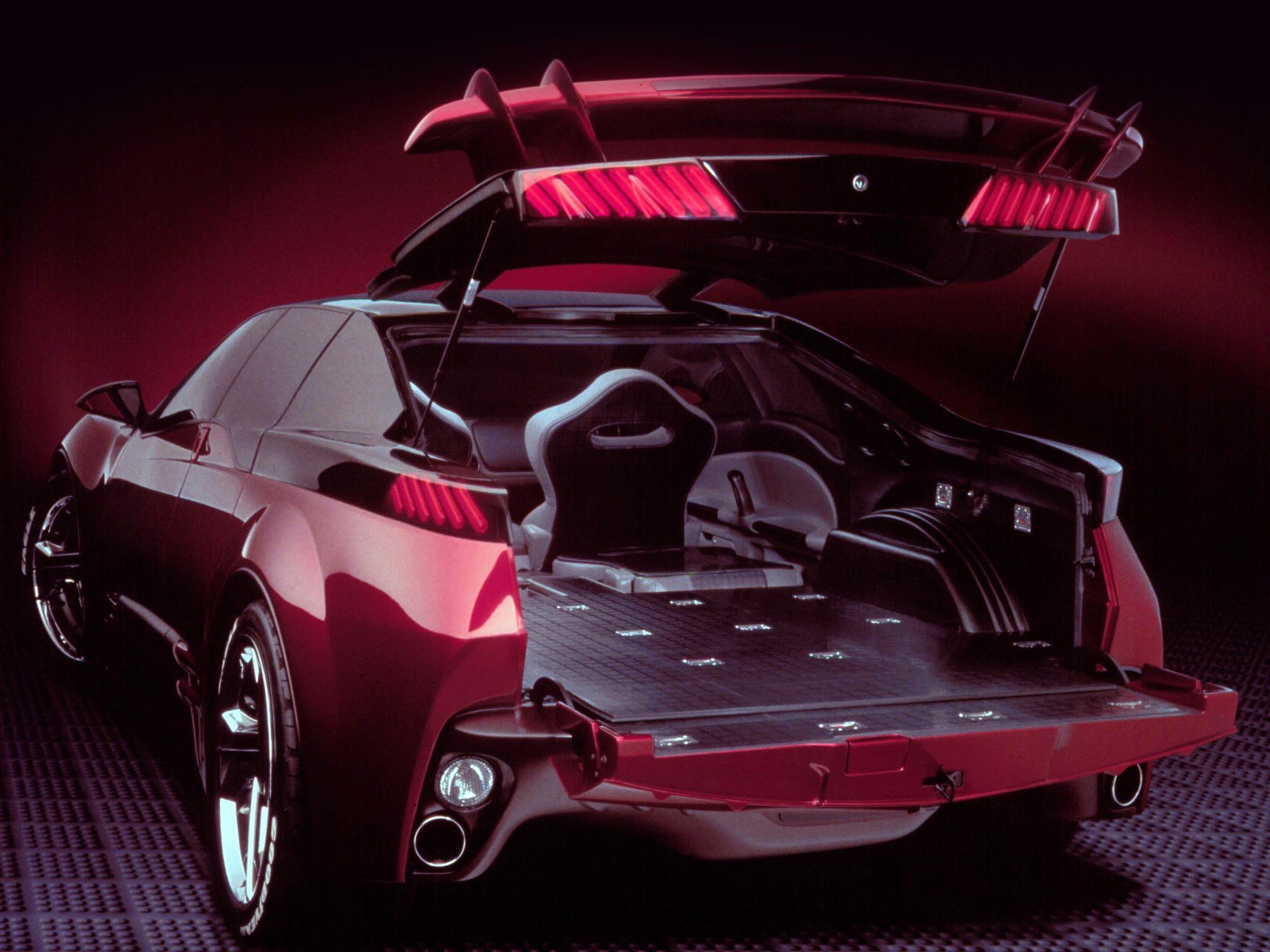 Pontiac Rageous Concept 1997 Old Concept Cars