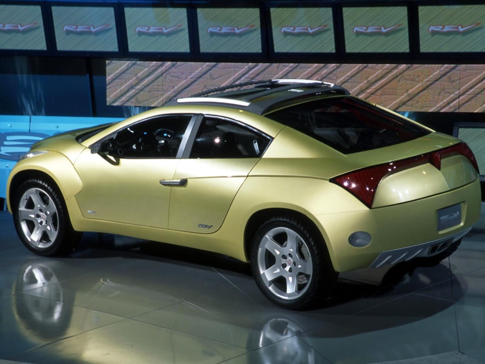 Pontiac Rev Concept 2001 Old Concept Cars