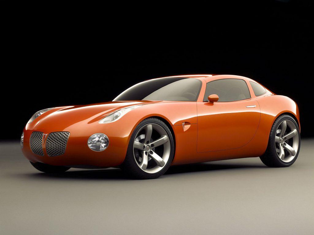 Pontiac Solstice Coupe Concept (2002)