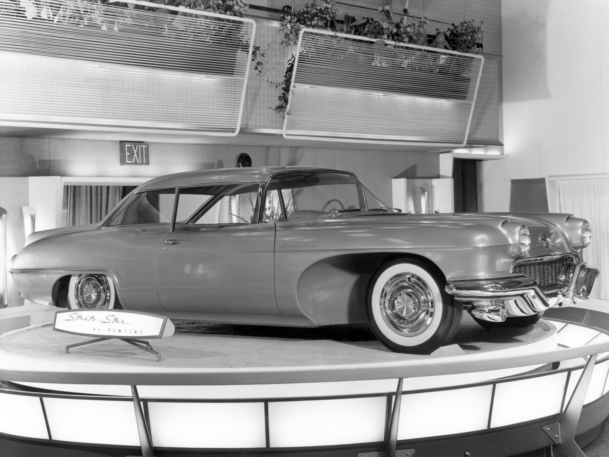 Pontiac Strato Star Concept Car 1955 Old Concept Cars