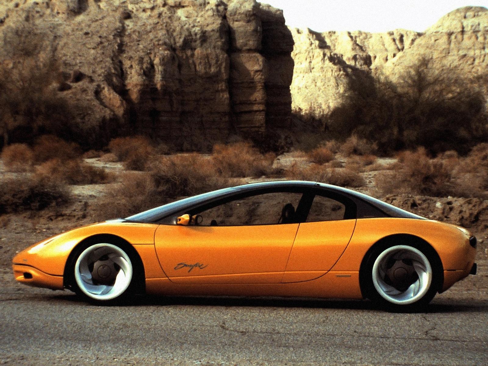 Pontiac Sunfire Concept (1990) - Old Concept Cars