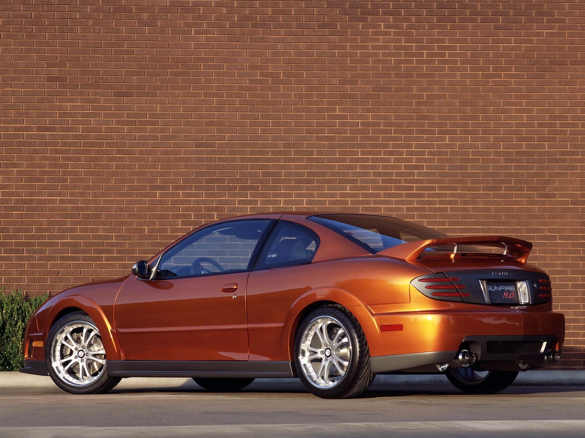 Pontiac Sunfire Ho 2 4 Sema Car 2001