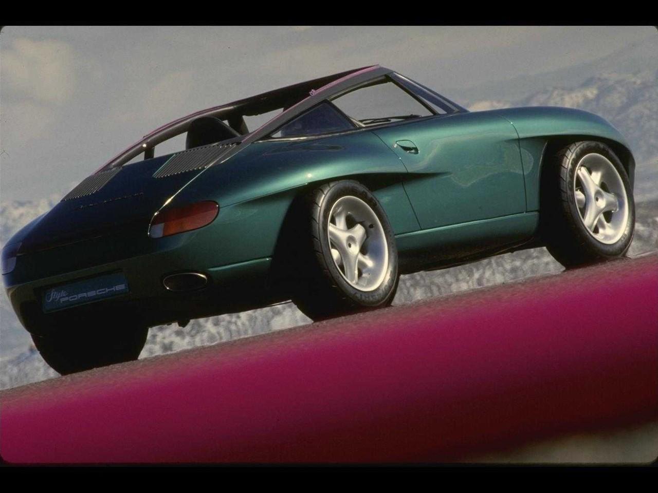 Auto Care Near Me >> Porsche Panamericana Concept (1989) - Old Concept Cars