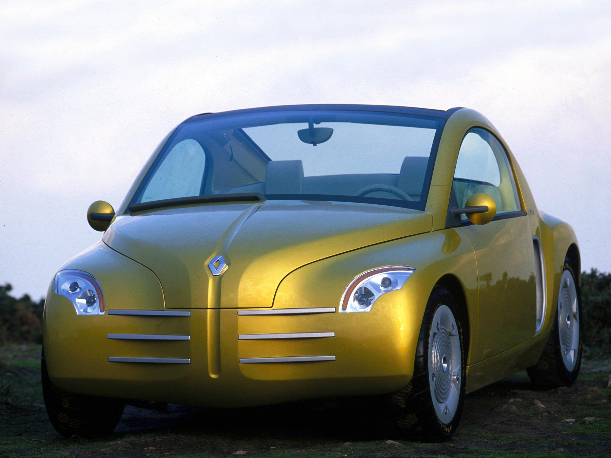 renault fiftie concept 1996 old concept cars. Black Bedroom Furniture Sets. Home Design Ideas