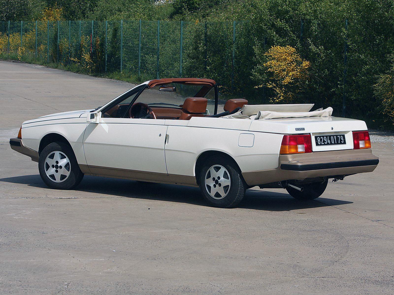 Chrysler Dealer Near Me >> Renault Fuego Cabriolet Concept (1982) - Old Concept Cars
