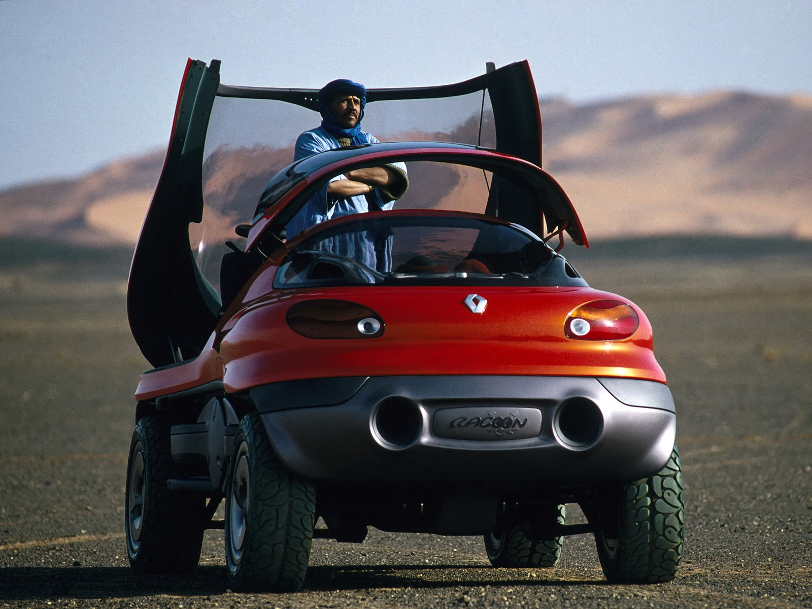 Used Vehicles Near Me >> Renault Racoon Concept (1993) - Old Concept Cars