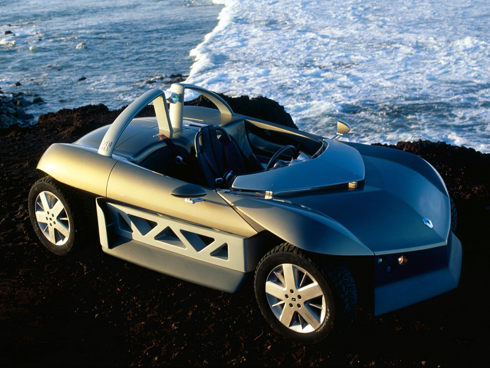 renault zo concept 1998 old concept cars. Black Bedroom Furniture Sets. Home Design Ideas