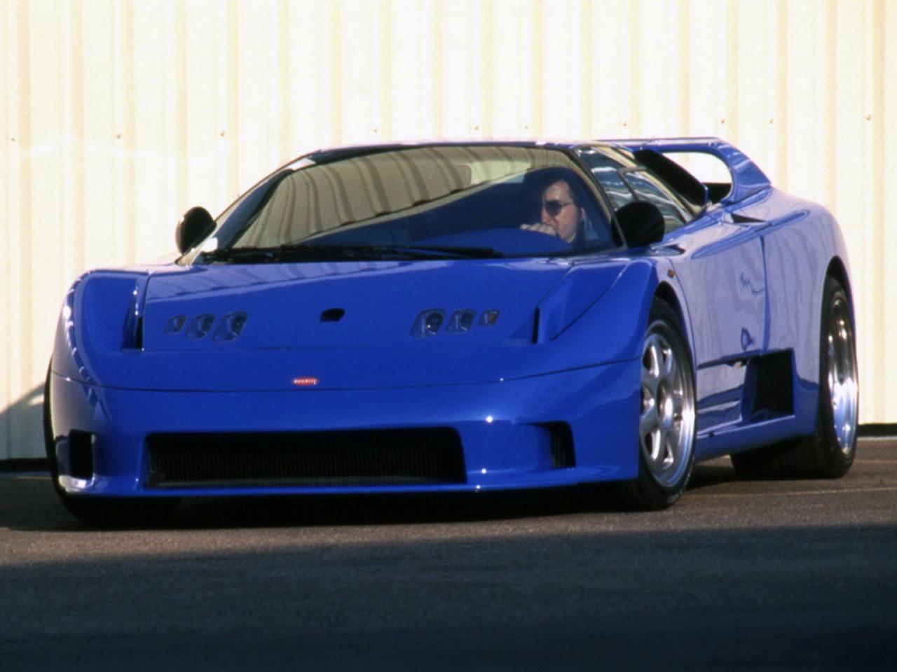 Bugatti Rinspeed Cyan (1994) – Old Concept Cars