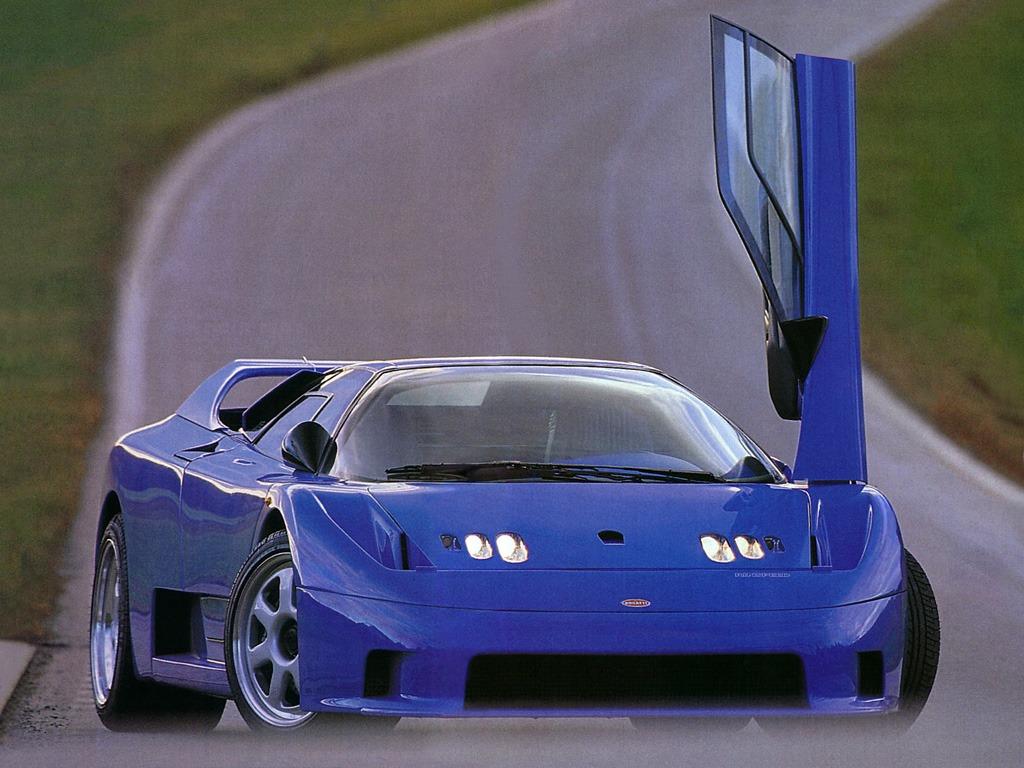 Bugatti Rinspeed Cyan (1994)
