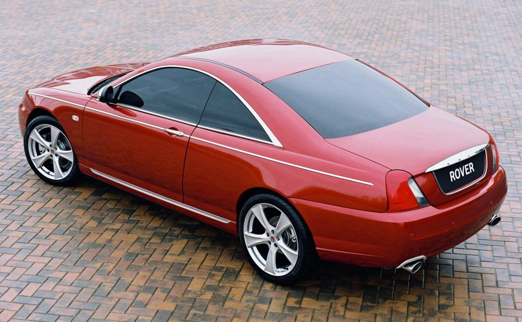 Rover 75 Coupe Concept (2004)