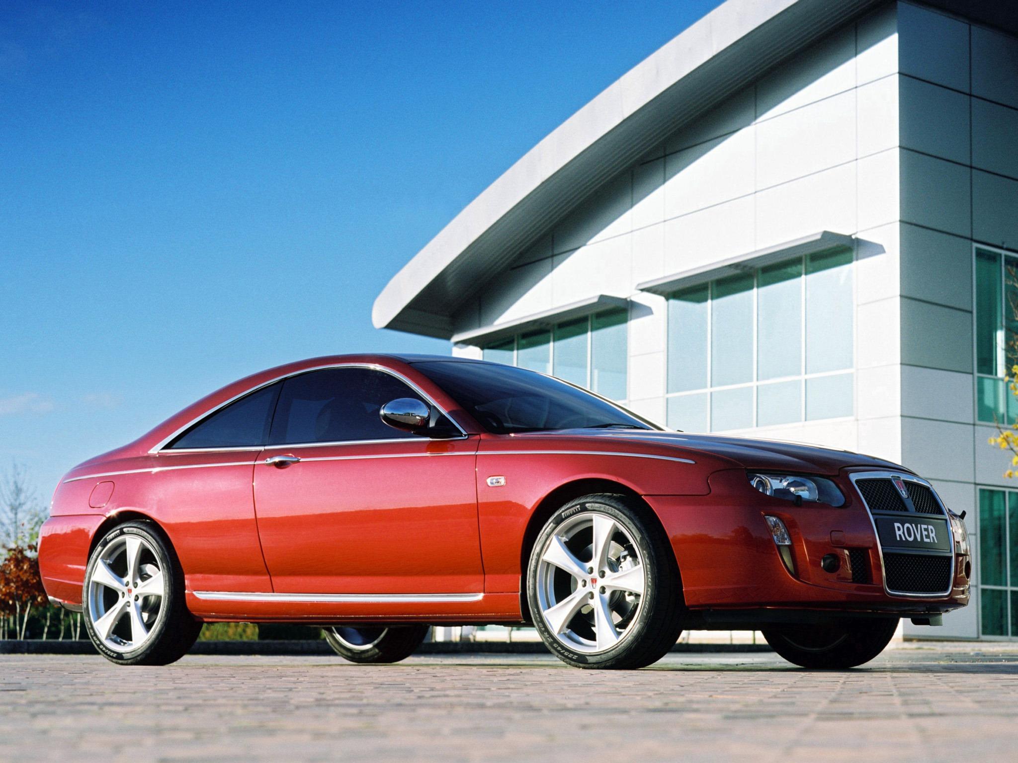 Subaru Near Me >> Rover 75 Coupe Concept (2004) - Old Concept Cars