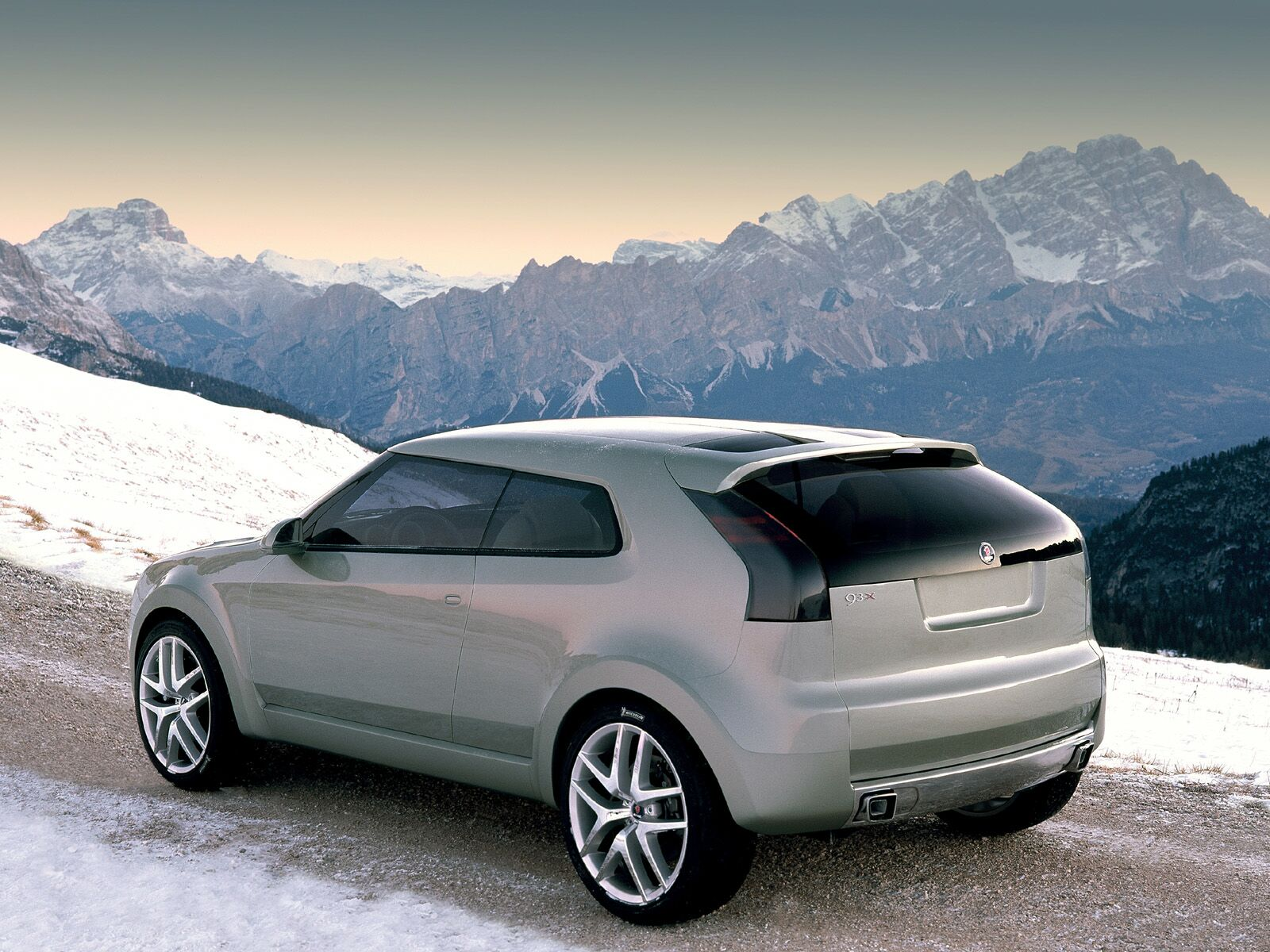 Saab 9 3x Concept 2002 Old Concept Cars