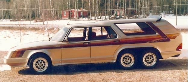 Saab 906 Turbo 1981 Old Concept Cars