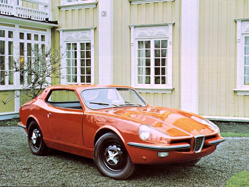 Saab Sonett II Prototype by ASJ (1965)