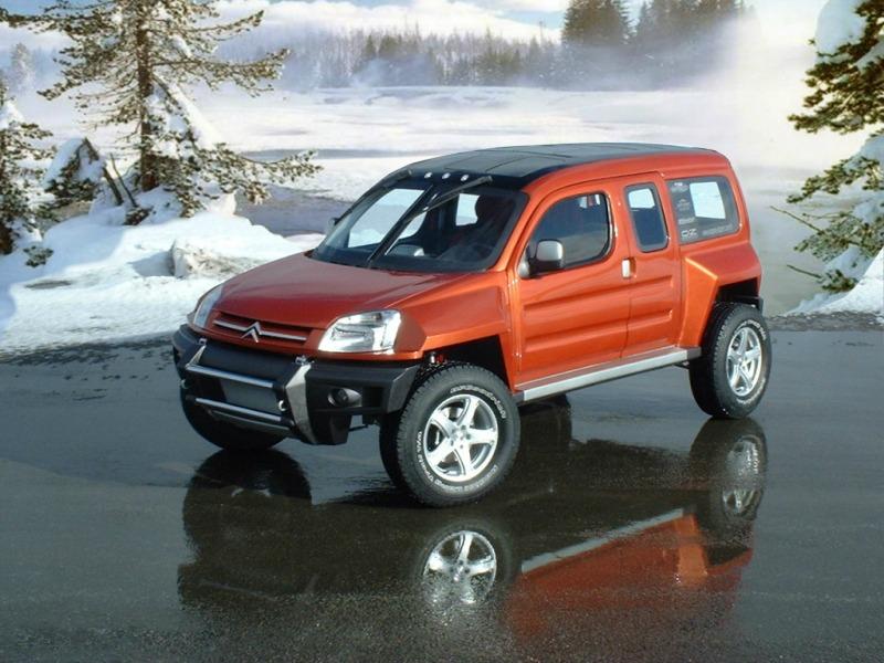 Sbarro Citroën Berlingo Bourlingueur Concept (2003)