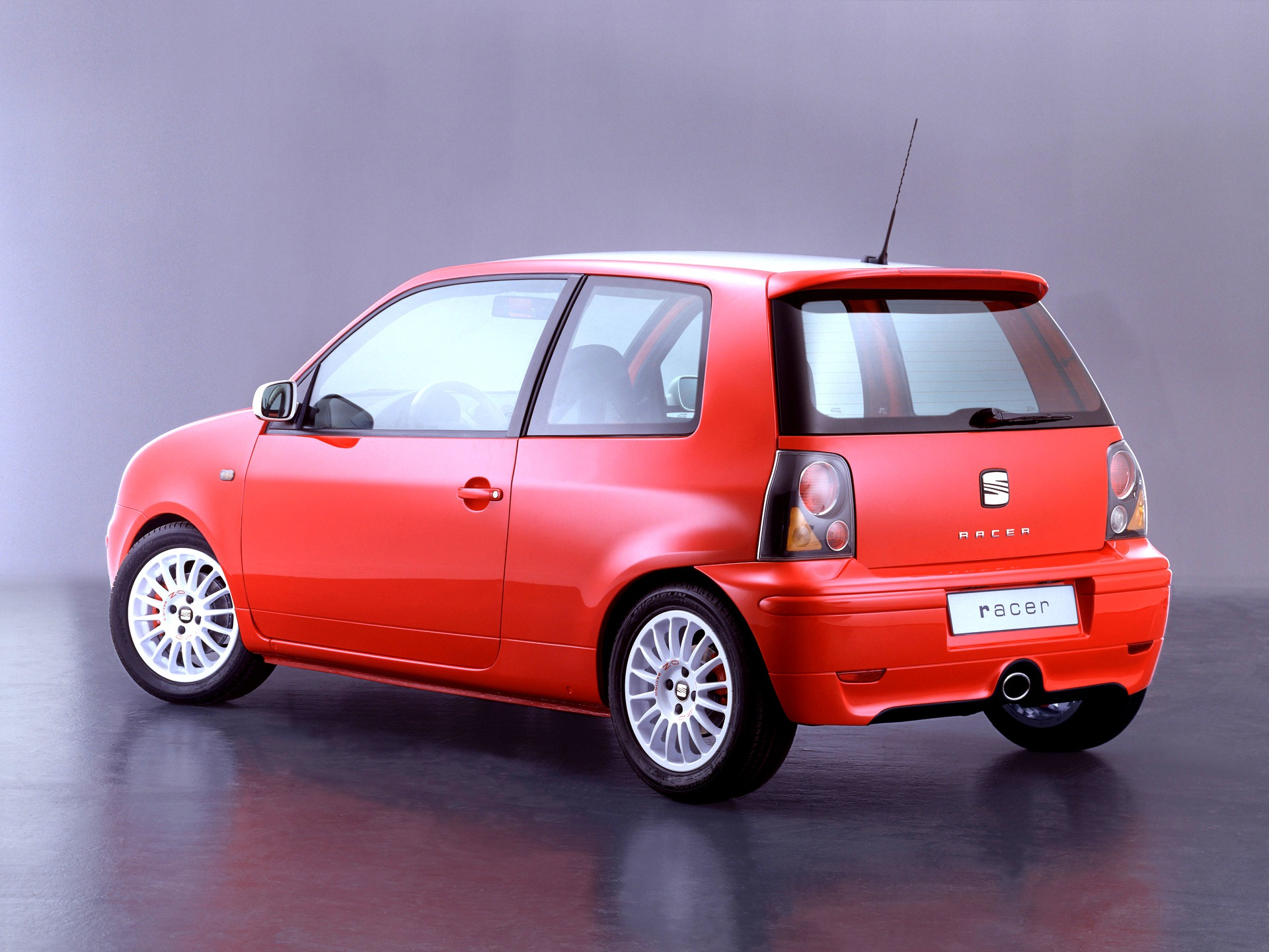 seat arosa racer concept 2001 old concept cars. Black Bedroom Furniture Sets. Home Design Ideas