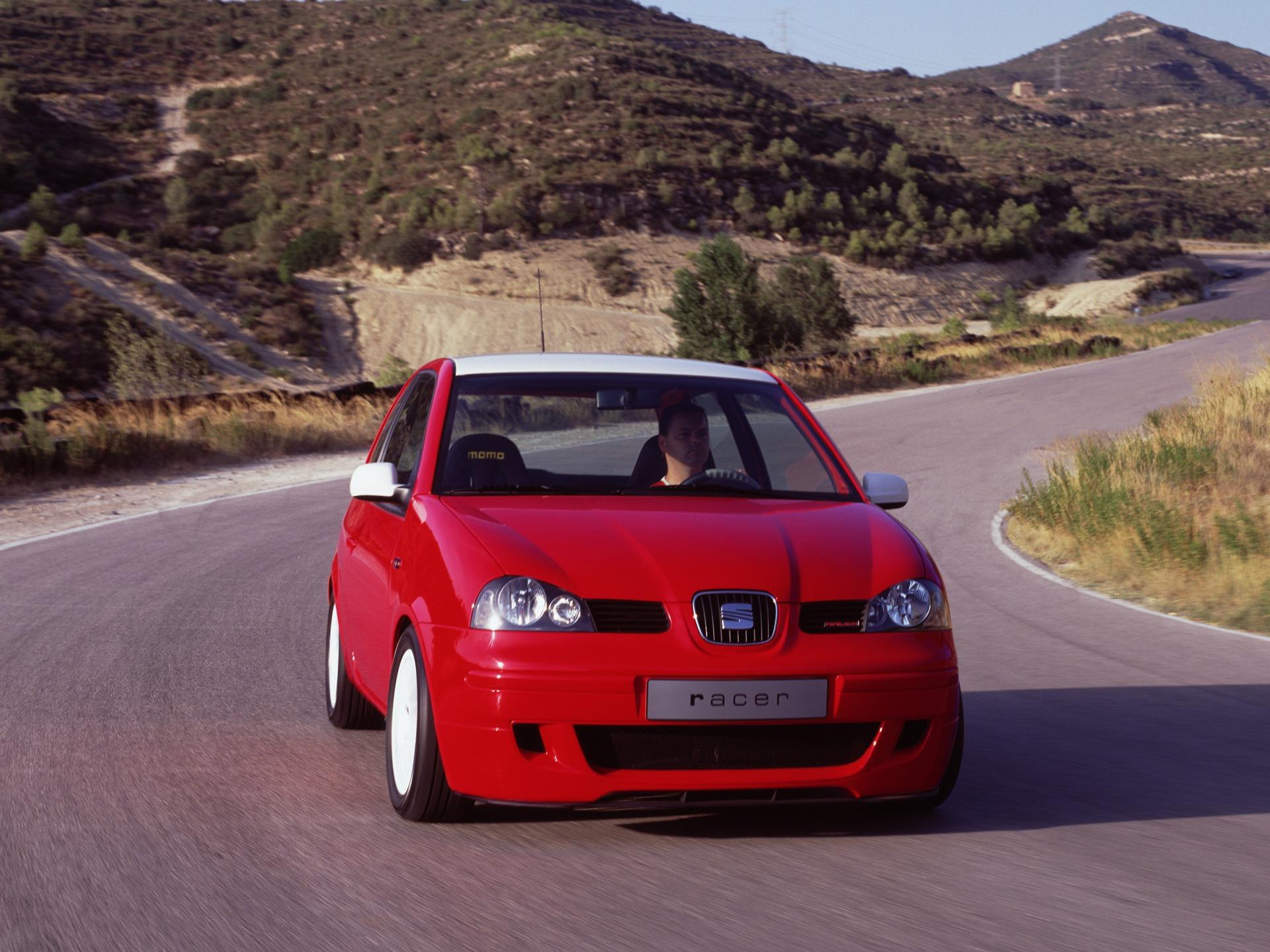 seat arosa racer concept 2001 old concept cars. Black Bedroom Furniture Sets. Home Design Ideas
