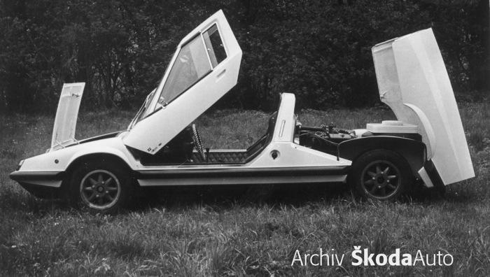 Subaru Dealer Near Me >> Škoda 110 Super Sport Ferat (1971) - Old Concept Cars