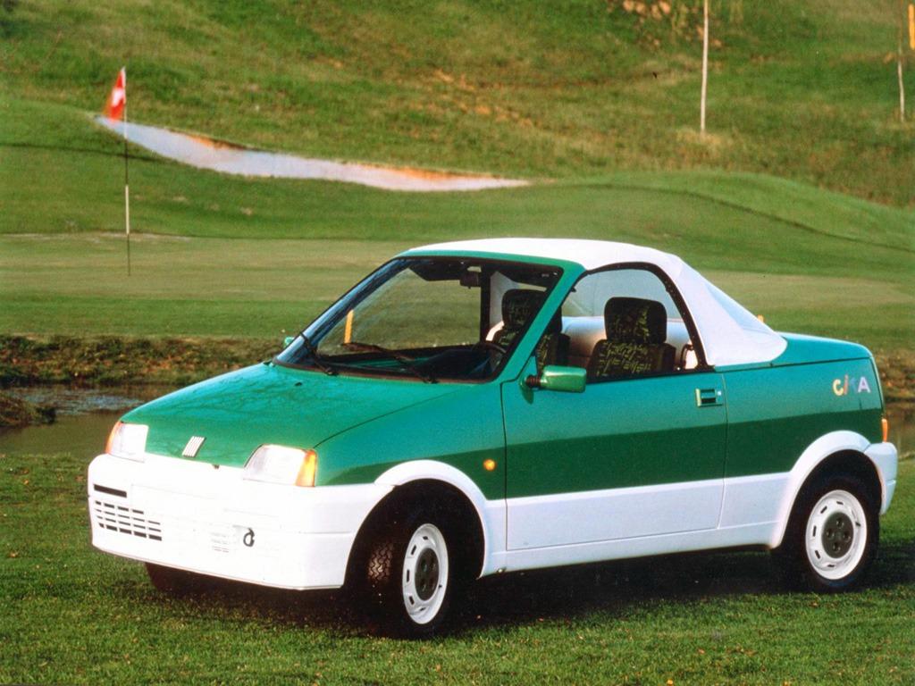 Fiat Cinquecento Cita (170) (1992)