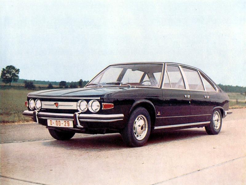 Tatra T613 Prototype (1970)