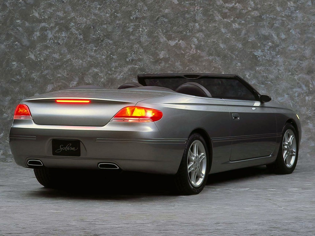 toyota camry solara concept 1997 old concept cars. Black Bedroom Furniture Sets. Home Design Ideas