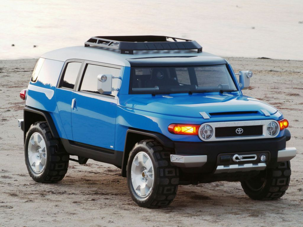 Toyota FJ Cruiser Concept (2003)