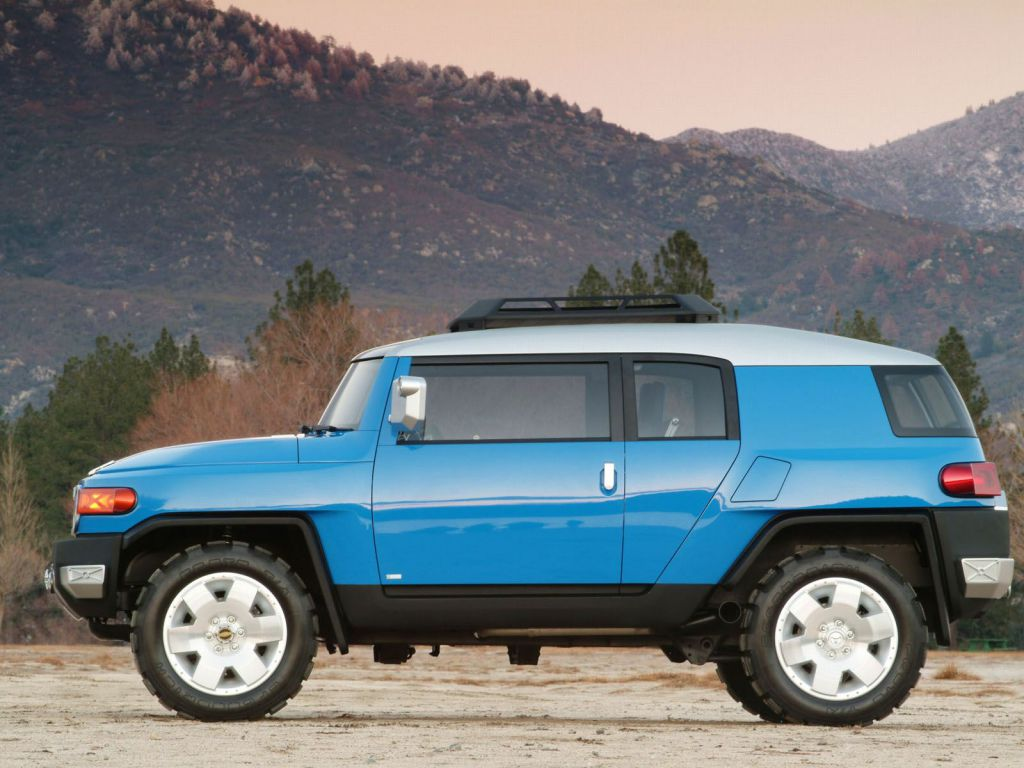 Toyota Fj Cruiser Concept 2003 Old Concept Cars