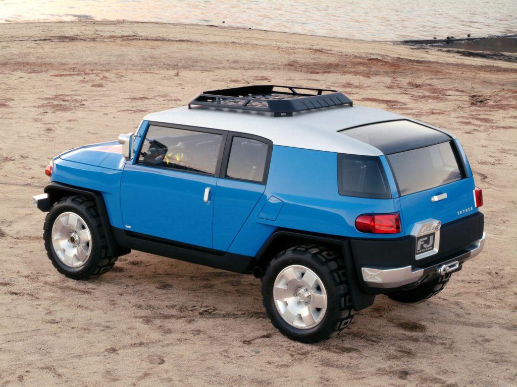 Toyota FJ Cruiser Concept (2003) – Old Concept Cars