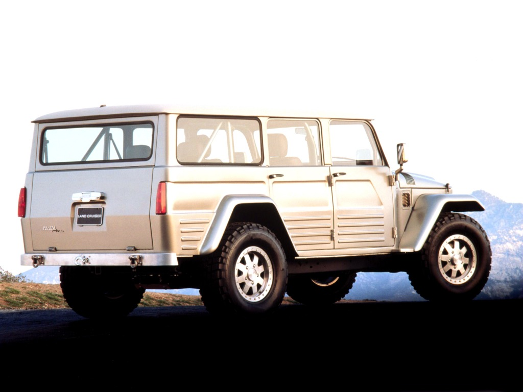 Toyota Land Cruiser FJ45 Concept (2003) - Old Concept Cars