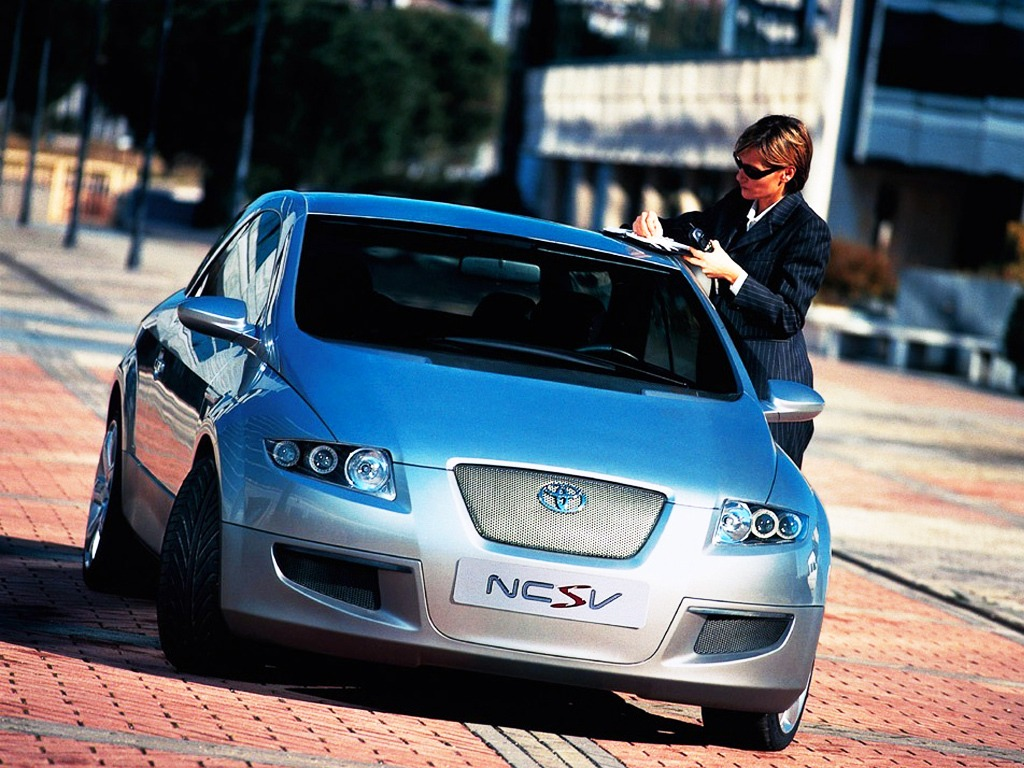 Top 5 Fastest Cars >> Toyota NCSV Concept (1999) - Old Concept Cars