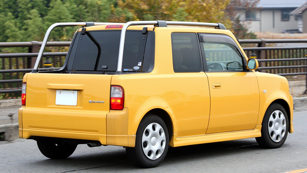 Toyota Trucks For Sale Near Me >> Toyota Open Deck Concept (1999) - Old Concept Cars