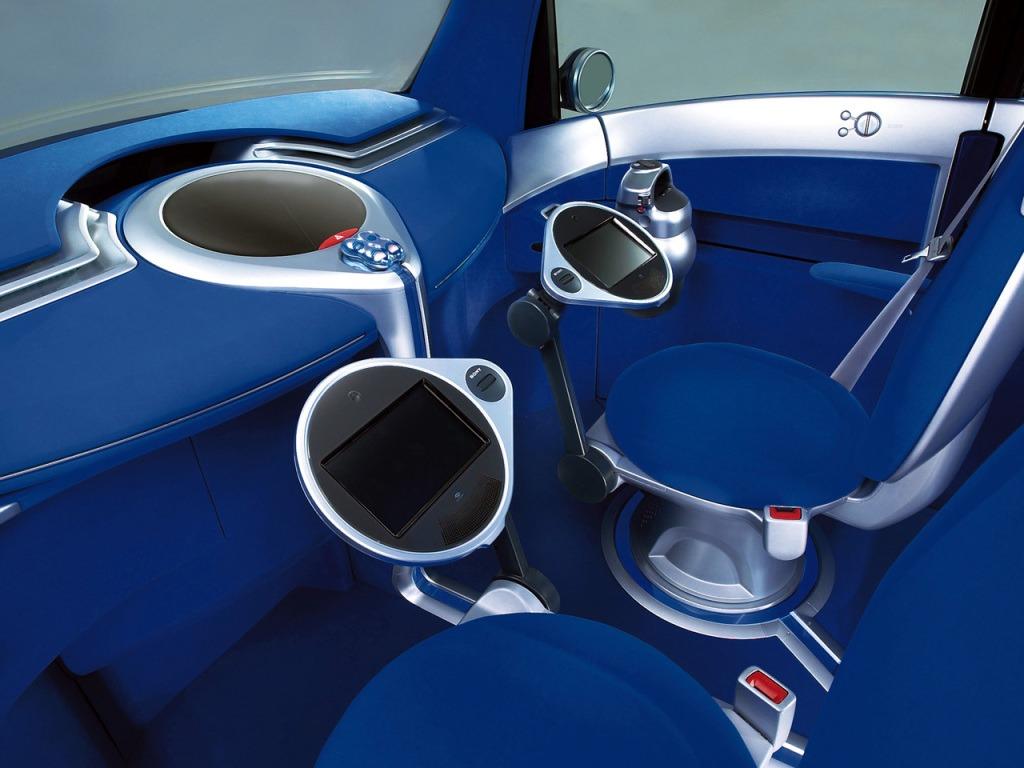 toyota p o d concept 2001 old concept cars. Black Bedroom Furniture Sets. Home Design Ideas