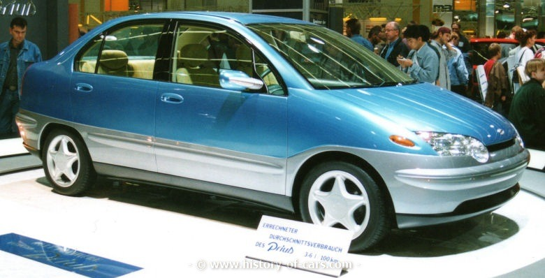 Toyota Pickup Parts >> Toyota Prius Concept (1995) - Old Concept Cars