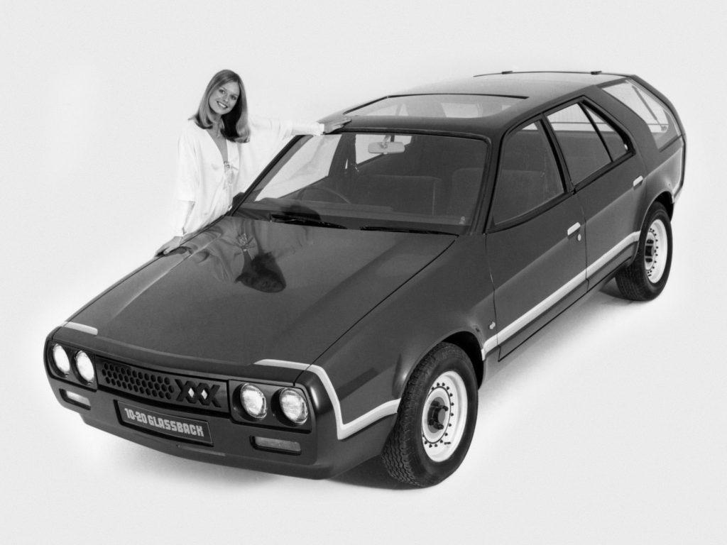 Austin Triplex 10-20 Glassback Concept by Ogle (1978)