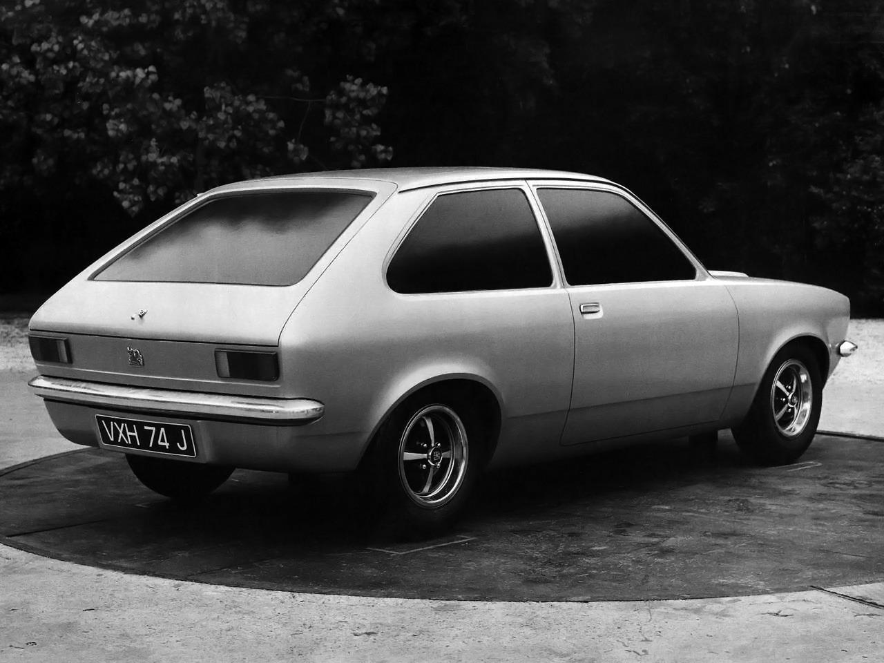 Vauxhall Chevette Hatchback (1973) – Old Concept Cars
