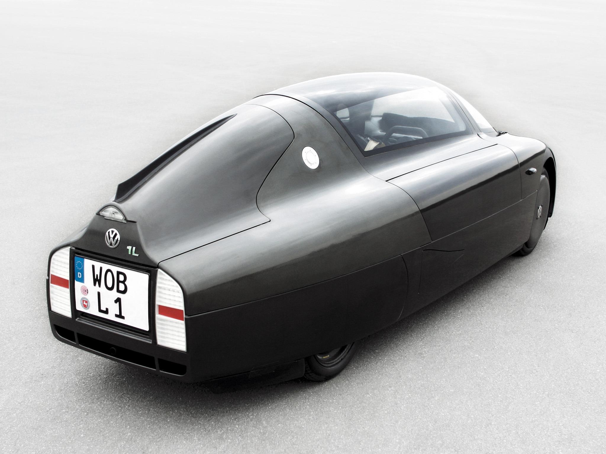 volkswagen 1 liter car concept 2003 old concept cars. Black Bedroom Furniture Sets. Home Design Ideas