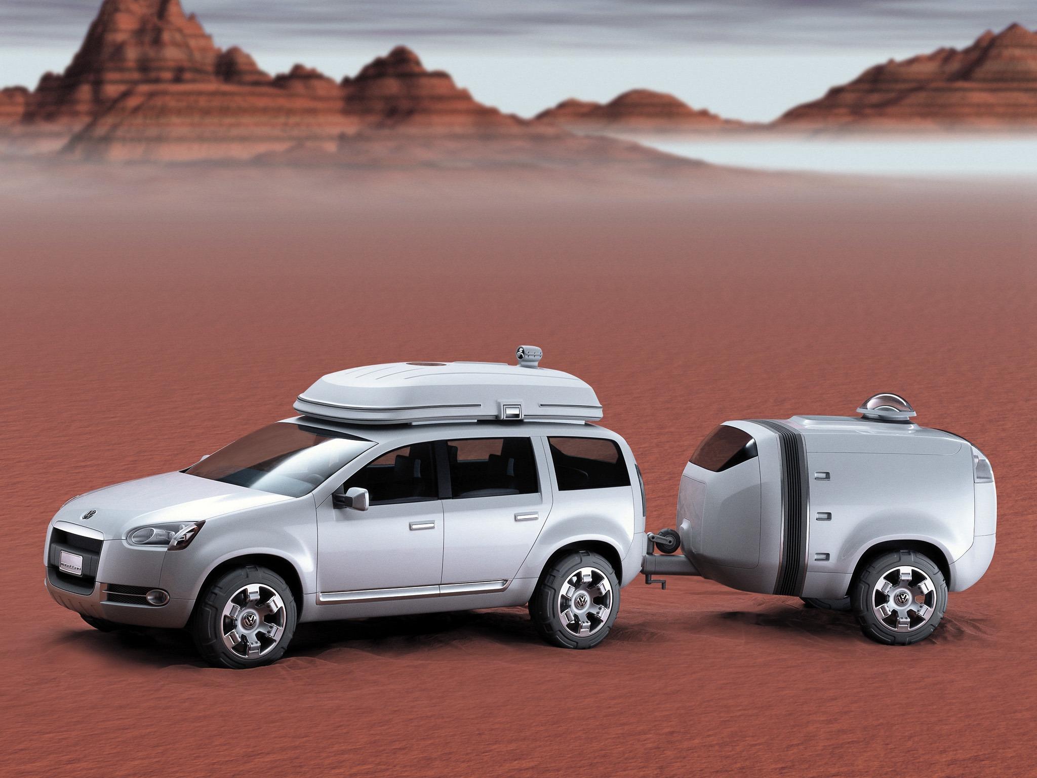 Auto Care Near Me >> Volkswagen Magellan Concept (2002) - Old Concept Cars