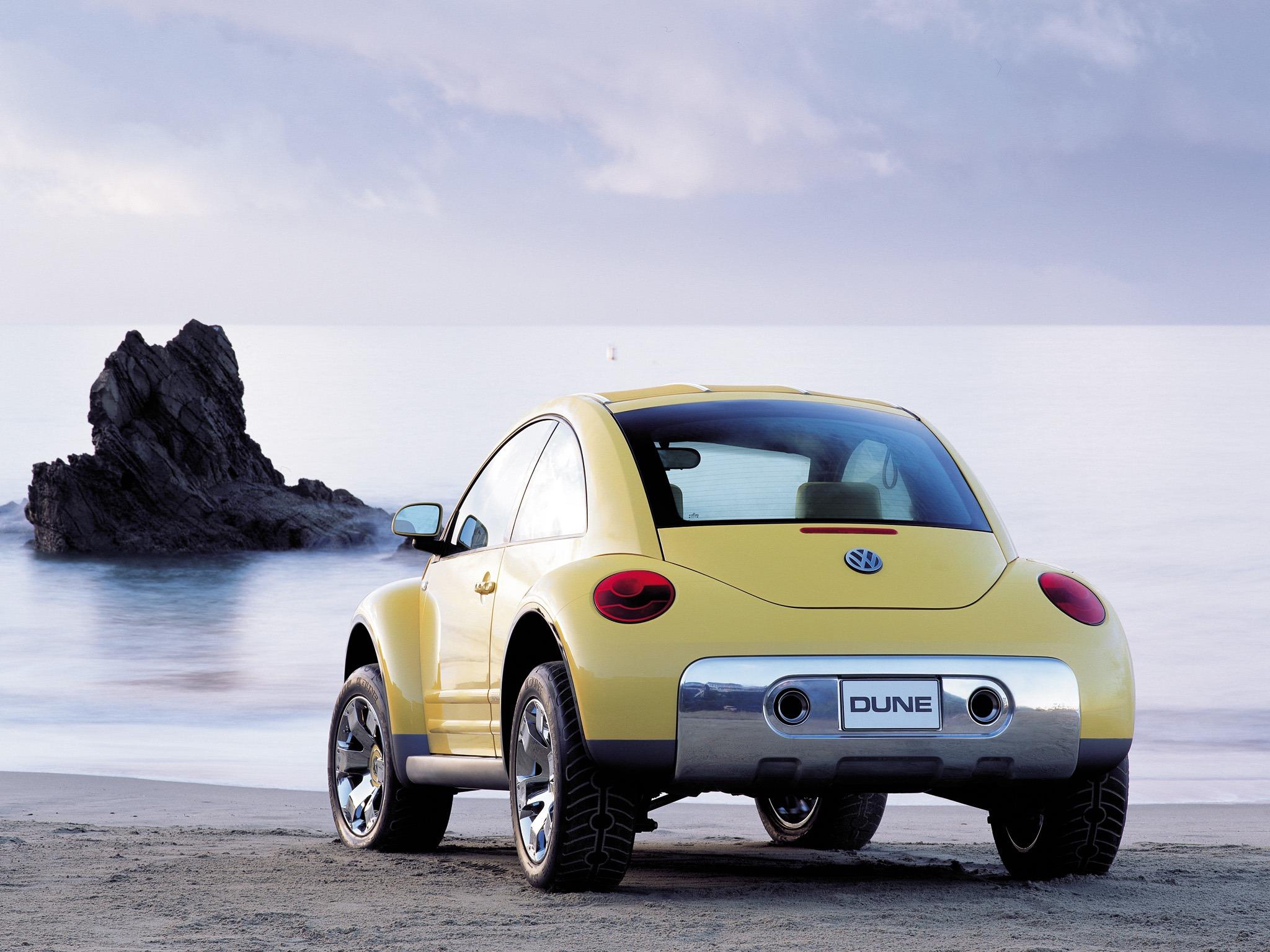 Volkswagen New Beetle Dune Concept Old Concept Cars