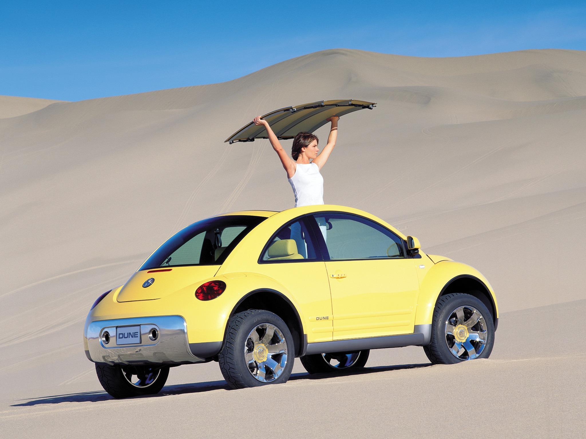volkswagen beetle dune officiell nu utan skidor teknikens v rld. Black Bedroom Furniture Sets. Home Design Ideas