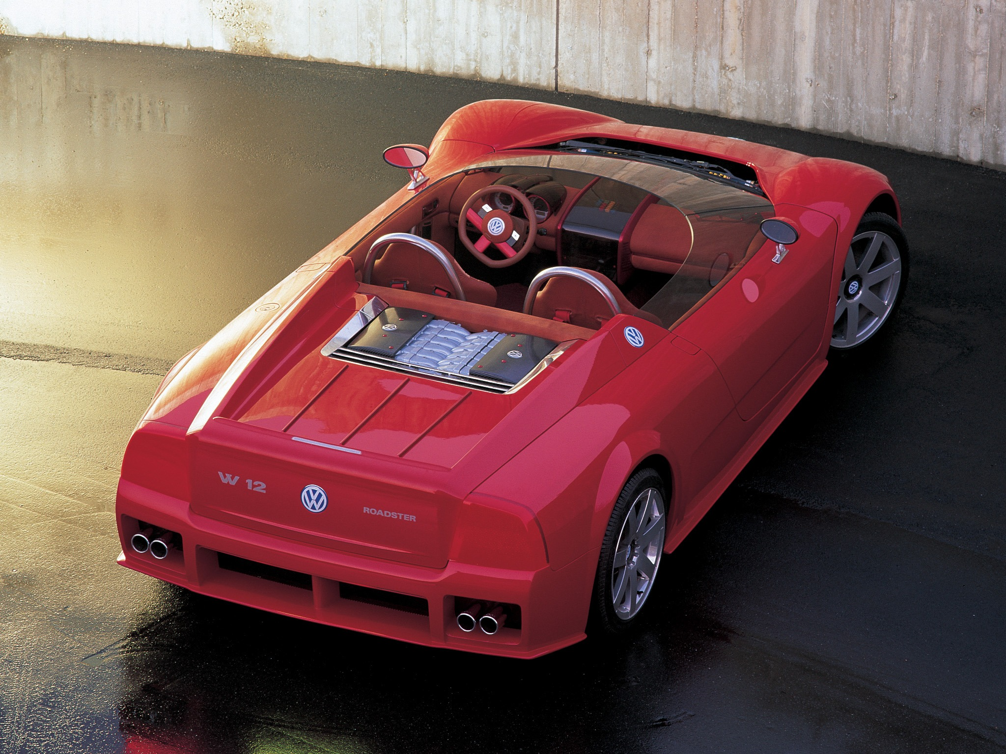Volkswagen W12 Roadster Concept 1998 Old Concept Cars