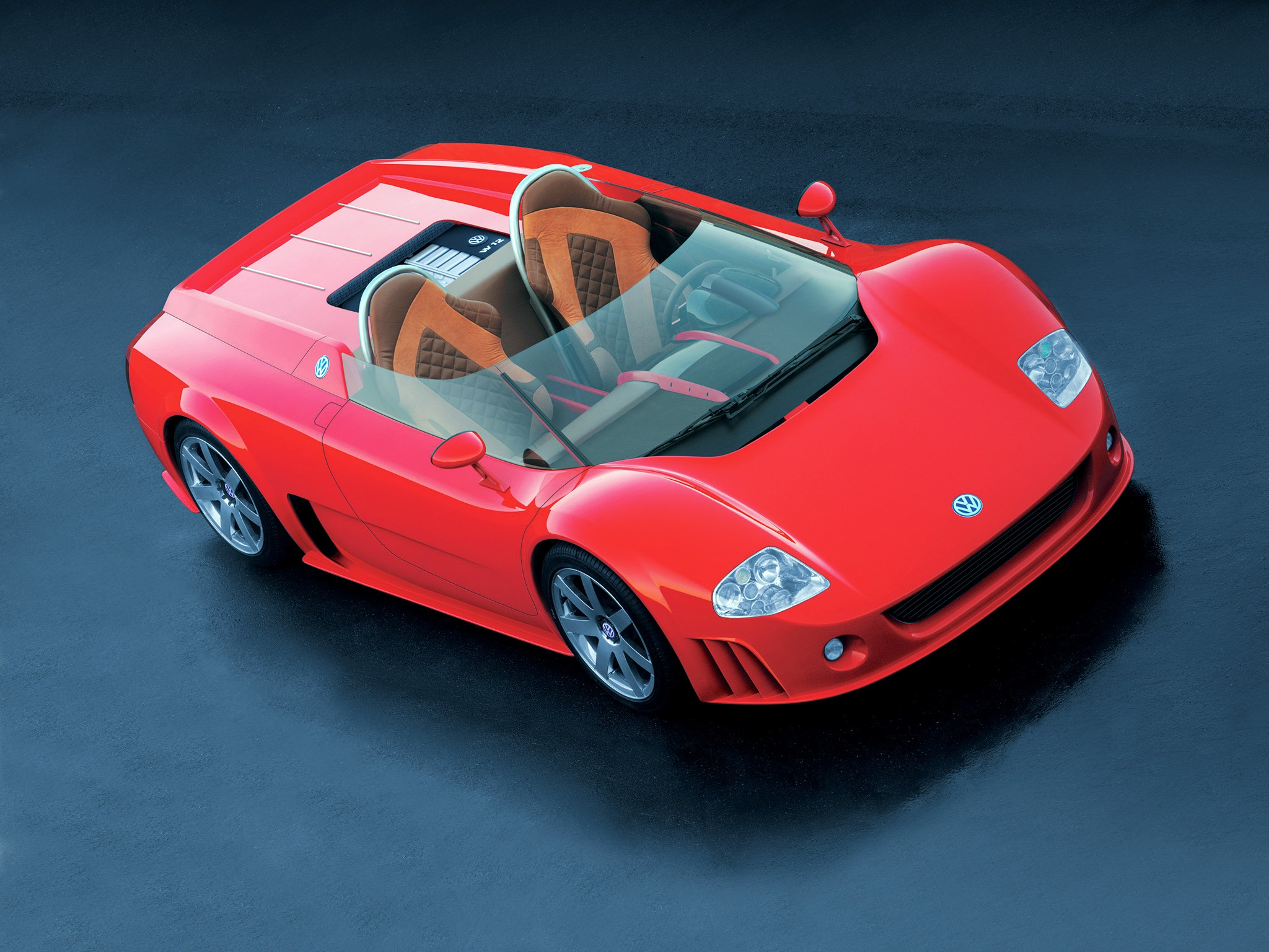 Volkswagen W12 Roadster Concept 1998 – Old Concept Cars