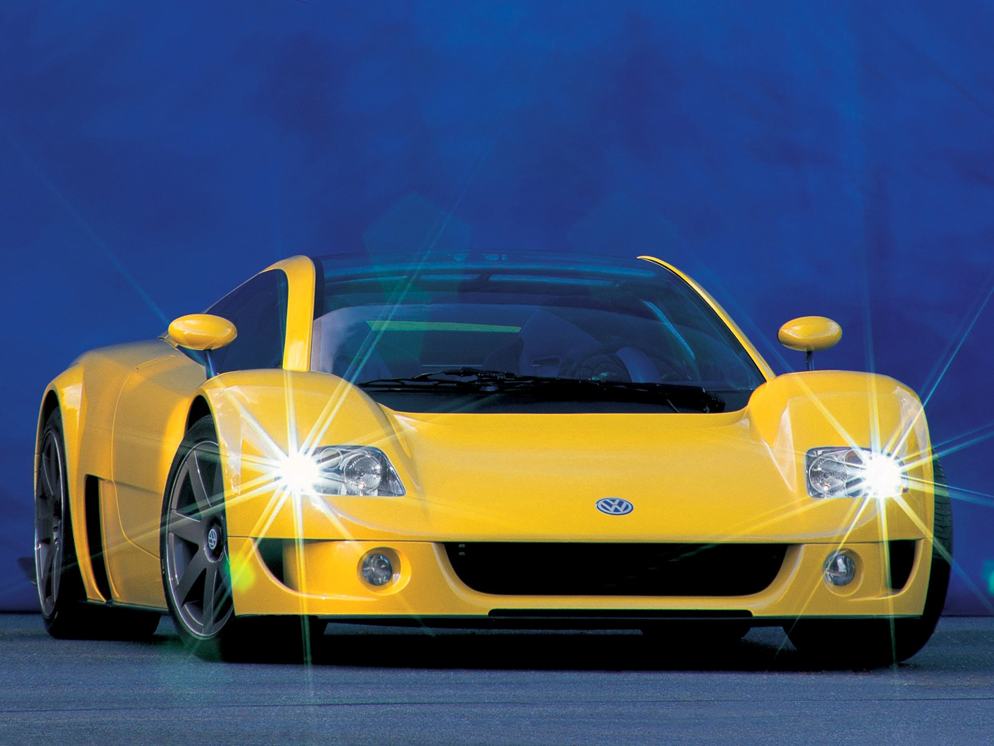 Top 10 Fastest Cars >> Volkswagen W12 Syncro Concept (1997) - Old Concept Cars