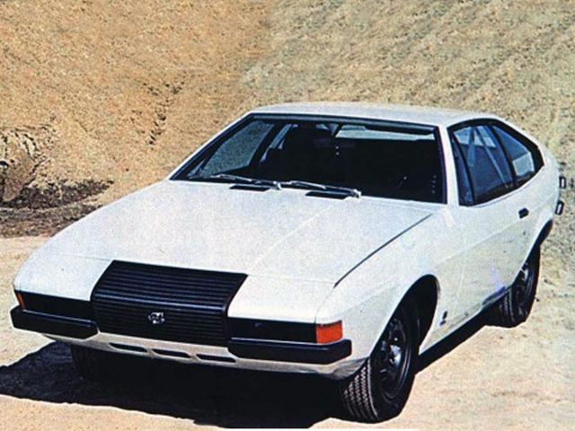 Volvo 1800 ESC Viking Concept by Coggiola (1971)