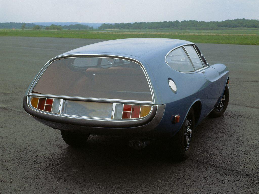 Volvo P1800 ES Rocket by Frua (1968)